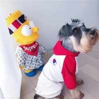 Fashion Dog Hoodies Tide Brand Teddy Puppy Schnauzer Apparel...