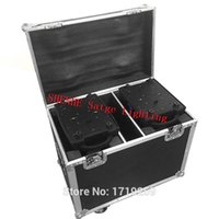 Flight Case with 2 pieces LED Wash Moving Head 12x18W RGBWA+UV LED Stage Wash Lighting for Wedding Concert Parties DJ