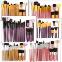 Portable 18PCS Makeup Brush Set Blush Foundation Power Conto...