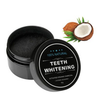 치아 미백 분말 100 % 자연 대나무 활성 숯 미소 파우더 오염 제거 치아 노란색 얼룩 대나무 치약 30g DHL 배송