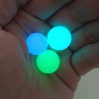 متوهجة الكوارتز لؤلؤة الكرة حزام حفرة كرات مضيئة حجر الحفارات الاصطناعية إدراج الأزرق الأخضر جولة الخرزة صديقة للبيئة تلميع 0 9st3 jj