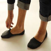 Männer Bootssocken Rutschfeste Unsichtbare Socken Low Cut No Show Hausschuhe Meias Socke Herren Kurze Socken für Männer Calcetines 5 paare / los