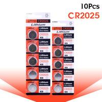 100 % 오리지널 팩 10pcs 2025 CR2025 BR2025 DL2025 KCR2025 L12 배터리 3V 리튬 버튼 / 코인 셀 배터리