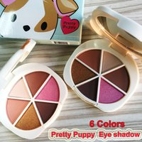 Makeup pretty puppy eye shadow palette 6 Colors matte shimme...