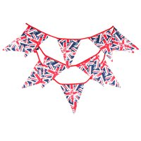 3. 6M Polyester Cotton United Kingdom National Flags 12 Piece...