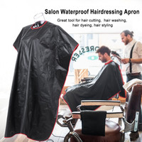 Hair Cut Hairdressing Cape Dyeing Barber Gown Cutting Haircu...