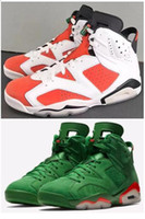 High Quality 6 6s Gatorade Orange Basketball Shoes Men 6s Ga...
