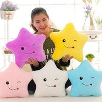 Twinkle Star Illumination Pillow LED Plush Star Toy Glow Up ...