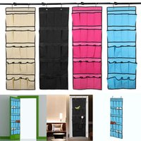 20 Pockets Behind Doors Hanging Storage Bag Non Woven Shoes ...