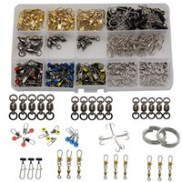 275pcs box Fishing Tackle Kit, Treble Hooks, Fishing Barrel ...