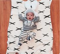 Aereo INS Baby Bear Blanket The Sofa Chair Carino Carter animale Tappeto bambino Giacca trapuntata Newborn Swaddle Coperta 110 * 65cm
