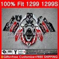 Injektion # 7 Röd svart kropp för Ducati Panigale 959 1299 S R 959 1299 15 16 17 18 108HM.16 959R 1299R 959S 1299S 2015 2016 2017 2018 FAIRING