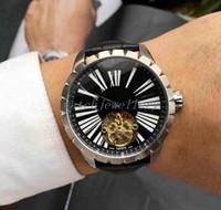 سعر الجملة 2018 حار وضع الأزياء والساعات للرجل جلد watchs العديد من الألوان سوار المعصم العلامة التجارية التلقائي آلة الأساسية.