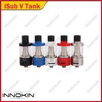 أصيلة Innokin Isub V TC تانك الأعلى إعادة تعبئة 3.0ML الفرعية أوم البخاخة مع لفائف كلابتون المثبتة 5 ألوان