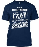 Easy- care Faculty Member Standard Unisex T- Shirt (S- 5XL)