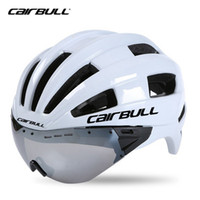 Cairbull Aero Adult Goggles Casco Bicycle Racing Time Trial Casco Sports Safety In-mold Lens Caschi M L 54-62cm Occhiali