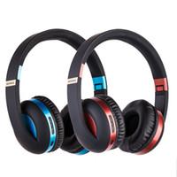Commercio all'ingrosso di alta qualità stessa di BESTS studio di SL di vendita caldo 5.0 suono stereo Auricolari bluetooth senza fili pieghevoli on-ear cuffia MIC telefono x