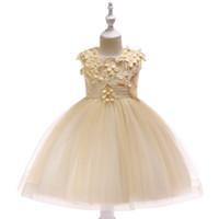 2019 meninas pageant vestidos lace fora do ombro flor menina vestido para casamento pequeno noiva princesa vestidos