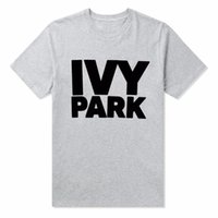 IVY PARK Women T Shirt Cotton Casual Funny Loose White Black...