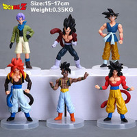 2018 new arrival gift for kids Cartoon Dragon Ball Z PVC Act...