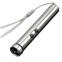 다기능 3 1 LED 손전등 야외 미니 포켓 레이저 포인터 자외선 감지기 달 LED 토치 라이트