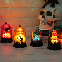 Halloween Pumpkins / Witch / Castle LED String Lights Lanterne Lampada per feste Forniture Decorazione di Halloween Haunted House Decoration A-719
