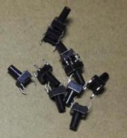 100pcs 6x6x10 MM 6x6x10MM 택트 스위치 촉각 스위치 마이크로 스위치 푸시 버튼 트랜지스터
