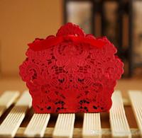 Свадебные сувениры Подарочные коробки коробка конфет партия выступает Hollow Свадебные конфеты коробка благосклонности шоколада коробки конфеты сумки торт коробки Многоцветный