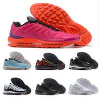 2018 New Arrival 97 Puls TN Pink Orange Silver Sports Runnin...