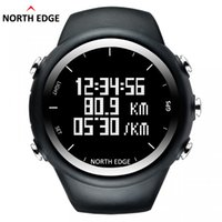 NORTH EDGE Men GPS watch Digital wristwatch for Outdoor Runn...