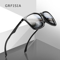 6ad0496384b GRFISIA Square Sonnenbrille Männer Polarisierte HD Drive Sonnenbrille Für  Männer Polaroi Objektiv Vintage Shades UV400 Brille