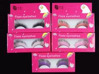Fashion New Drama Stage Art Form Party Feather False Eyelashes Makeup Eye Tail Extended Pro Women Eye Makeup Tool