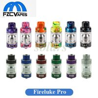 100% Original Freemax Fireluke PRO Réservoir 4 ml Résine En Fiber De Carbone Terminé 25mm Diamètre Subohm Vape Réservoir Authentique E Cigarette Atomiseur
