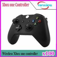 100pcs Xbox One Wireless Controller para Xbox One Elite Gamepad Joystick Joypad PC Receiver Xbox One para Microsoft envío gratis YX-one-01