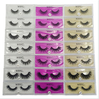 3D Artificial Mink Lashes Thick Imitation Mink False Eyelash...