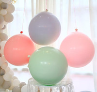 36 Inch Macarons Latex Balloon Large Macaron Balloon Birthda...