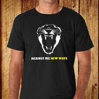 Against Me! New Wave Punk Rock Band Men' s Black T- Shirt...