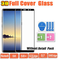 Note8 S8 3D Curved Full Cover Tempered Glass Phone Screen Pr...