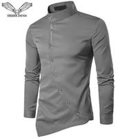 Irregular Camisa Moda Compre 2018 Africano Hombres Negro Dashiki qaxxvwCZn