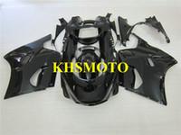 Motorfiets Fairing Kit voor Kawasaki Ninja ZZR1100 93 99 01 03 ZZR 1100 ZX11 1993 2001 2003 ABS Glans Black Backings Set + Gifts ZD02