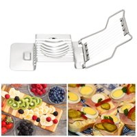 Fruit Egg Slicer Manual Cheeses Apple Vegetables Chopper Dic...