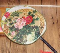 Chinesischen Stil Kreis Fan Frauen Alte Klassische Tanzshow Requisiten Vintage Han Kleidung Hand Fans Exquisite Kleine 1 8lw cc