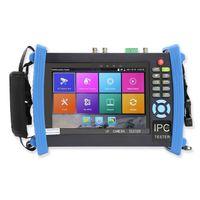 7 inç HD CCTV Test Cihazı Monitör IP TVI AHD CVI SDI Analog 8MP PTZ Kablo Tracer Onvif Wifi Poe