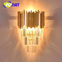 Creative crystal wall lamp irregular art fashion design vill...
