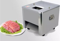 Qihang_top آلة تقطيع اللحم الكهربائية التجارية آلة تقطيع اللحوم الفولاذ المقاوم للصدأ الكهربائية دليل تقطيع اللحوم للبيع LLFA