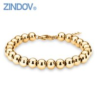 ZINDOV Hot Trendy Silver Rose Gold Filled 316L Stainless Ste...