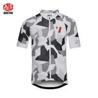 2017 print short sleeve cycling jersey top quality cycling g...