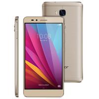 "Original Huawei Honor 5X Spielen 4G LTE Handy MSM8939 Octa Core 2GB RAM 16G ROM Android 5.5 ""13.0MP Fingerprint ID Smart Handy"