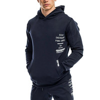 Mens Clothing Winter ACTIVE GYM Hoodies Homme Pullover ALPHA...