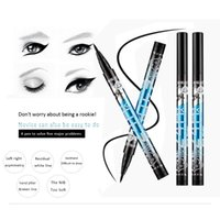 Women Waterproof Makeup Silk Black Liquid Eyeliner Pencil Wa...